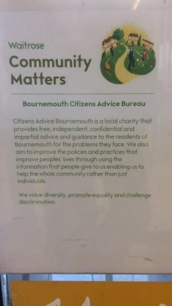 Waitrose Winton Community Matters