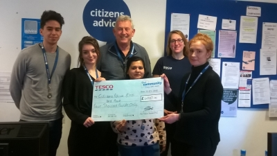 £4000 Cheque from Tesco